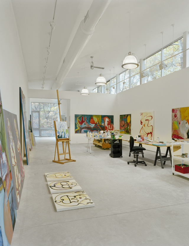 East Hampton Artist Studio