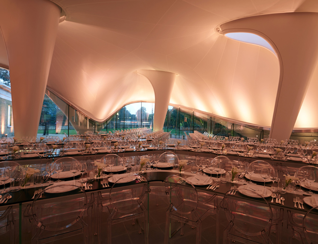 Serpentine Sackler Gallery Donor's Dinner